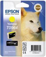 Картридж Epson StPhoto R2880 yellow C13T09644010 yellow
