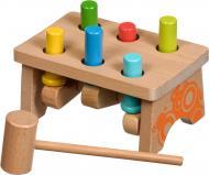 Стучалка Іграшки з дерева Гвозди-перевертыши прямоугольник 2