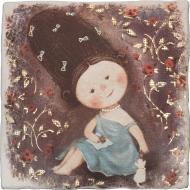 Плитка Атем Ruth Baby 3 декор 20х20