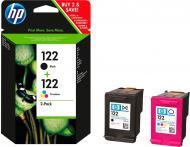 Набір картриджів HP  №122 Black/Color 2-Pack CR340HE багатокольоровий CR340HE