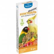 Корм Природа відчуй радість Колосок для середніх папуг (мультифрукт, горіх, цитрус) 3х30 г PR240098