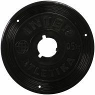 Диск InterAtletika для грифа 0,5 кг SТ 520-1