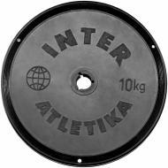 Диск InterAtletika для грифа 10 кг SТ 520-5