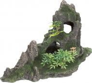 Декорація TRIXIE Скеля з печерою і рослинами 27х13х16,5 см 8854