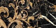 Плитка Golden Tile Saint Laurent чорний декор №3 9АС331 30x60