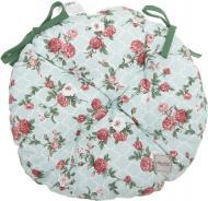 Подушка на стілець кругла Маленькі троянди 40 см La Nuit