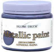 Фарба декоративна акрилова Ircom Decor графіт 0,4 л