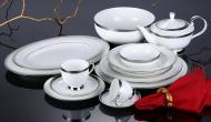 Сервіз столово-чайний Pembroke Platinum 60 предметів на 6 персон Narumi