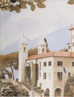 Плитка Golden Tile Troyanda Sorrento декор №3 60Б331 25x33