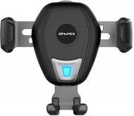 Автодержатель AWEI CW2 Wireless Car Holder Black (86276)