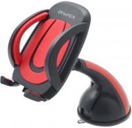 Автодержатель AWEI X7 Car Mobile Holder With Suction Cup Black/Red (86267)