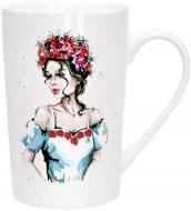 Чашка Модная девушка 390 мл 21-279-081 Keramia