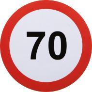 Наклейка Ограничение максимальной скорости 70 км/ч
