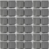Плитка Ceramika Pilch Мозаїка AA01 срібна 30x30