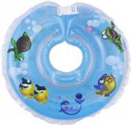 Круг для купання Delfin EuroStandard блакитний 200018