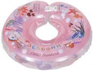 Круг для купання Delfin EuroStandard рожевий 200012