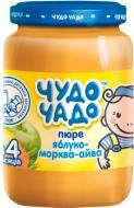 Пюре Чудо-Чадо Яблоко, морковь и айва с витамином С 170 г 4820016251434
