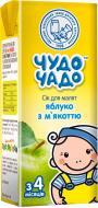 Сік Чудо-Чадо Яблучний з м'якоттю та цукром 200 мл 4820016251670