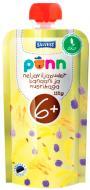 Пюре Ponn Органік 4 злаки банан-чорниця 110 г 4740073071137