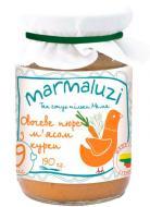 Пюре Marmaluzi Овочі з м'ясом Курки 190 г 4779034140056