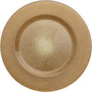 Блюдо Glimmer 33 см золото