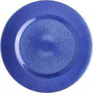 Блюдо Glimmer 33 см синє