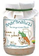 Пюре Marmaluzi Каша молочна з трьох злаків 190 г 4779034140049