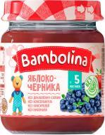 Пюре Bambolina Яблоко-черника 100 г 4813163001960