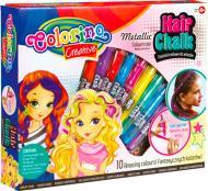 Олівець для волосся набір для декора 10 кольорів