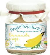 Пюре Marmaluzi Банан 125 г 4779034140339