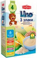 Каша молочна Lino 3 злаки з молочною сумішшю 3850104275555 210 г