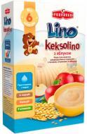 Каша молочная Lino Keksolino Пшеничная с печеньем и яблоком 3850104251894 200 г