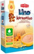 Каша молочная Lino Karamelino Пшеничная со вкусом карамели 3850104230042 200 г