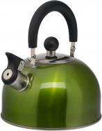 Чайник Сolor 2,5 л зелений