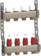 Колектор Luxor 7 контуров, з витрат. та термоклап. 15612707X