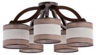 Люстра стельова TK Lighting Cortes Venge 153 5x60 Вт E27 венге