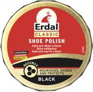 Крем ERDAL для взуття 75 г чорний