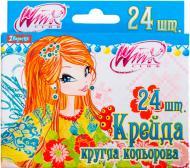 Крейда кольорова Winx 24 кольорів 1 вересня