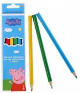 Олівці кольорові Свинка Пепа