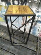 """Барный стул GoodsMetall в стиле ЛОФТ 750х350х350 """"Трансильвания"""""""