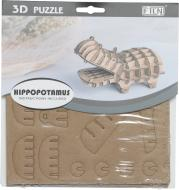 3D-пазл бегемот 15x15