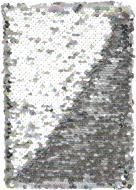 Блокнот Паєтки А5 96 арк. в клітинку веселковий JONSER