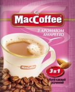 Кавовий напій MacCoffee 3 в 1 Амаретто 18 г (8887290101608) (8887290101608)