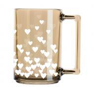 Чашка Фитнесс Золотой мед Полное сердце 320 мл Luminarc