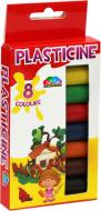 Пластилін Фантазія 8 кольорів 112 г 331042 Гамма
