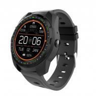 Умные часы King Wear KW01 с влагозащитой и пульсометром Черный
