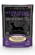 Ласощі Oven-Baked Tradition Bio Biscuit з печінкою для дорослих собак 227 г