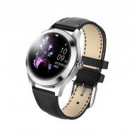 Умные смарт часы King Wear KW10 с защитой от воды Серебристый