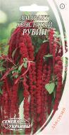 Насіння Семена Украины амарант хвостатий Рубін 0,3 г