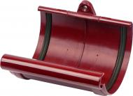 Муфта желоба Giza 120 мм красный
